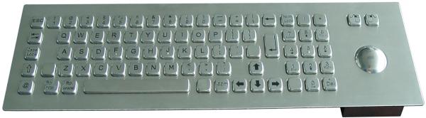 A400 MTB Endüstriyel Çelik Klavye