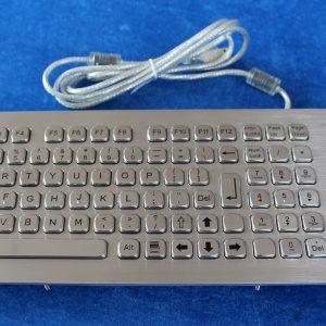 A-420-MTB Endüstriyel Çelik Klavye